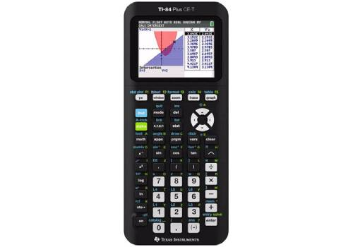 Texas-Instruments-TI-84-CE-T